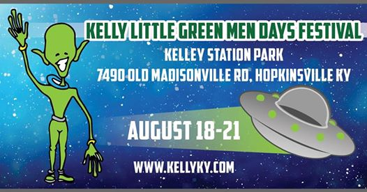 Kelly Little ​Green Men Days Festival